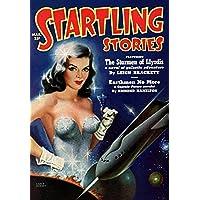 Vintage Sci Fi Startling Stories Mar. 25c Fine Art Print (60.96 x 91.44 cm)