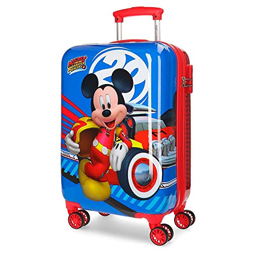 Disney world mickey valigia per bambini 55 centimeters 37.4 multicolore (multicolor)