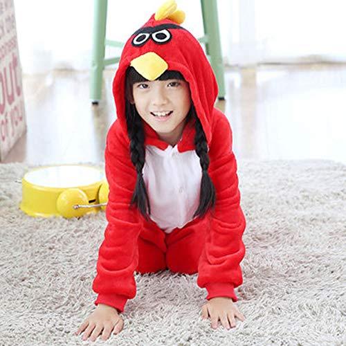 Hiswill Kinder Schlafanzug Winter Flanell Tier Schlafanzug EIN -
