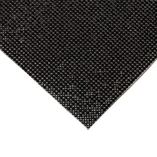 Holz-perlen-trim (240x 400mm Kristall Strass Trim Hotfix Strass Kristall Mesh Streifenbildung Bridal Perlen Applikationen in Tabelle für Kleider mit 2mm Strass 240x400mm schwarz)