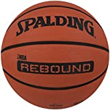 Spalding Rebound Rubber Basketball (Color: Brick, Size: 7