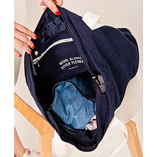 Q.KIM Große Kapazität Multifunktionale Leinwand Reisetaschen Wochenendtasche Einkaufstaschen Mama Handtasche Handgepäck Reisetasche mit Schuhfach,Grün Pink