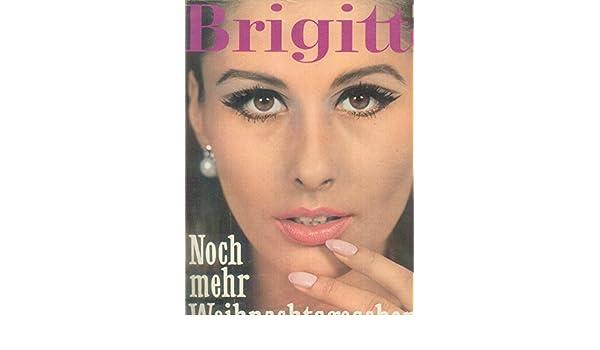 Brigitte Weihnachtsgeschenke.Brigitte Zeitschrift Illustrierte Magazin Heft Nr 24 Vom 22 11 1966