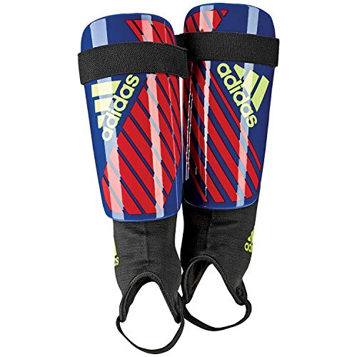 adidas X Club Shin Guards, Bold Blue/Active red/Solar Yellow, S