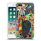Head Case Designs Offizielle Steven Brown Francie Und Josie Wildtiere Soft Gel Hülle für iPhone 7 Plus/iPhone 8 Plus