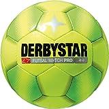 Derbystar Futsal Match Pro, 4, gelb grün, 1084400540 (Ausrüstung)