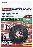 Tesa Powerbond 55750extérieur Ruban, 1,5m x 19mm, transparente, boîtes de 72pièces