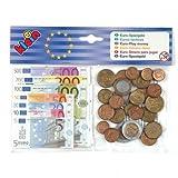 Klein 9612 - Juego de monedas y billetes de Euro de juguete