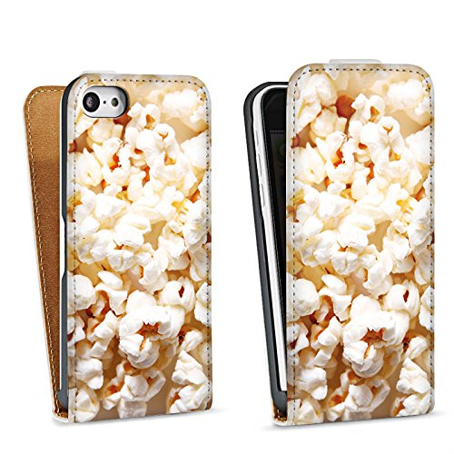 DeinDesign Tasche kompatibel mit Apple iPhone 5c Flip Case Hülle Kino Popcorn Poppin Corn - 5c Iphone Case-kino