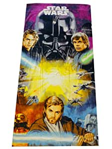 Serviette de bain Star Wars 75x150 cm