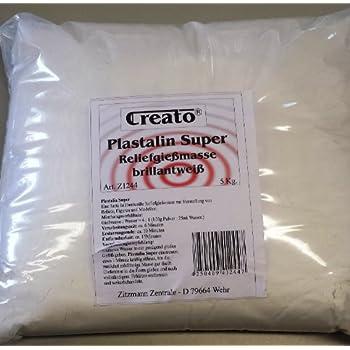 5kg Beutel Keraflott Reliefgießpulver 5kg Hobbyfun 3,99€//kg