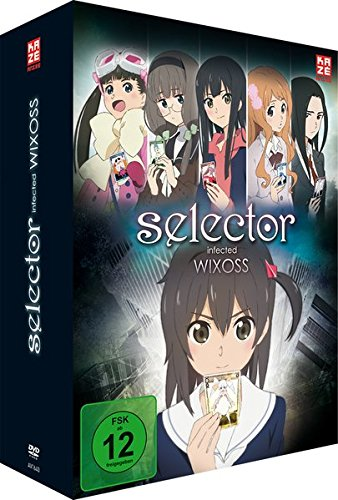 Selector Infected Wixoss - DVD Box Vol. 1 (2 DVDs) + Sammelschuber