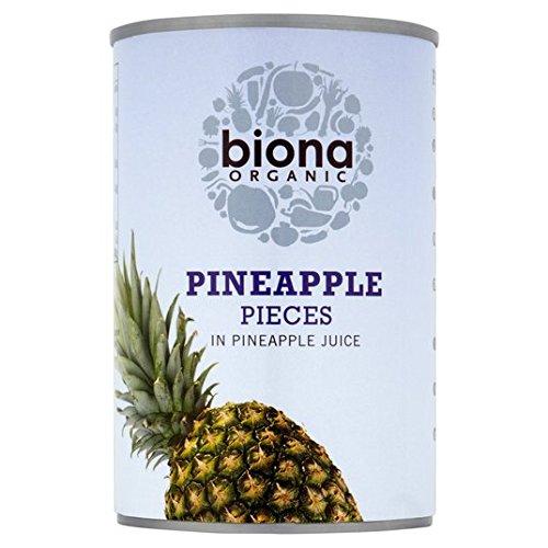 Biona Ananas Organic Pieces 400g
