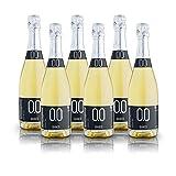 alternativa® - Sparkling Weiß Extra-Dry - 0.0% vol (Packung mit 6 Flaschen 750ml)