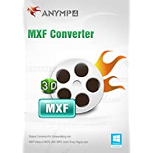 AnyMP4 MXF Converter 1 Year License - MXF in MP4/AVI/MKV/WMV/FLV/MOV konvertieren [Download]