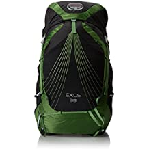 Osprey Exos Backpack, Bassalt Black, 71 x 33 x 28 cm, 38 Liter