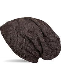 styleBREAKER calda cuffia beanie in maglia fine con motivo a stella e  morbido rivestimento interno in eaca00ded574