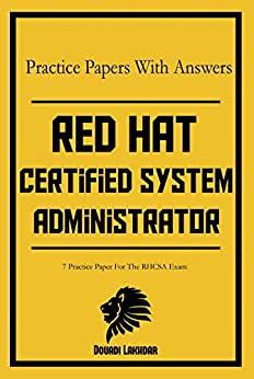 RHCSA 7 Practice Papers With Answers by [Lakhdar, Douadi]