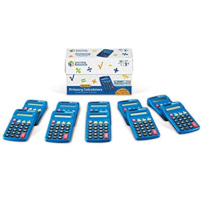 Learning Resources Primary Calculator (Set of 10) from Learning Resources