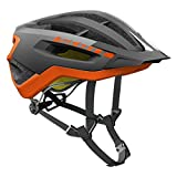 Scott Fuga Plus XC MTB Fahrrad Helm grau/orange 2017: Größe: M (55-59cm)