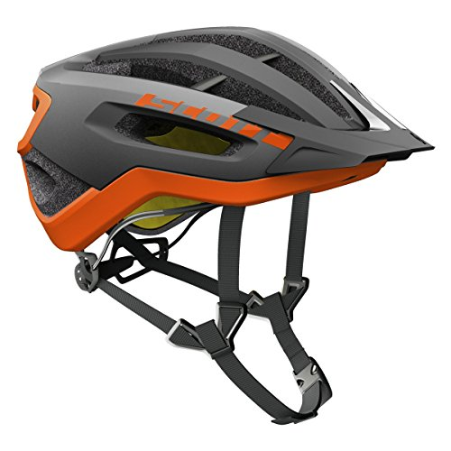 Scott Fuga Plus XC MTB Fahrrad Helm grau/orange 2017
