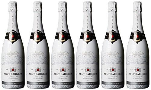Brut Dargent Ice Chardonnay Méthode Traditionnelle Halbtrocken 2015 (6 x 0.75 l)