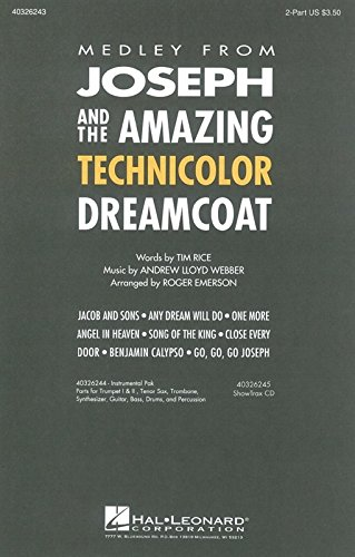 andrew-lloyd-webber-joseph-and-the-amazing-technicolor-dreamcoat-medley-2-part-partitions-pour-choeu