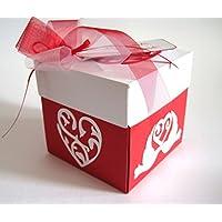 Geschenkverpackung Geldgeschenk zur Hochzeit Explosionsbox