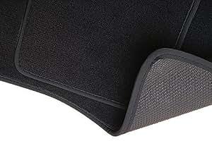 PREMIUM Tapis de sol - Set de 4 tapis de pieds - graphite - velours tapis automobiles - 5902311211579