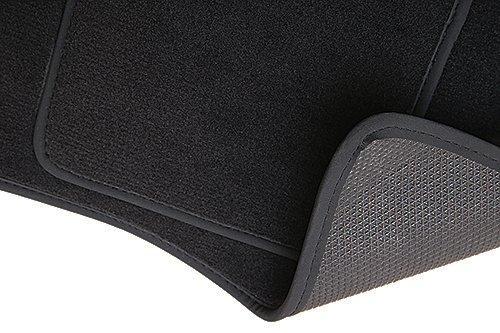 Preisvergleich Produktbild PREMIUM Fußmatten - 4-teilig - anthrazit - Automatten Velours - 5902311202171