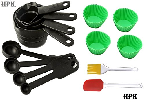 Hpk-14-Pcs-Silicon-Baking-Ware-Measuring-Cups-Spoons-By-Hpkindia-Rd
