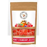THE HONEY SHOP Honey Strawberry Jelly 100g Real Fruit+100% Pure Honey Healthy Sweet (No Added Sugar)