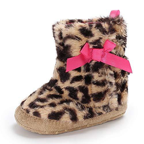 ❤️ Zapatos de niña con Suela para Vestir, Zapatos de Bota de Nieve Antideslizante para bebés recién Nacidos Zapatos niña Fiesta Boda Absolute