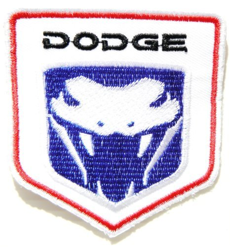 dodge-viper-logo-sign-nos-car-racing-patch-iron-on-applique-embroidered-t-shirt-jacket-by-surapan-by