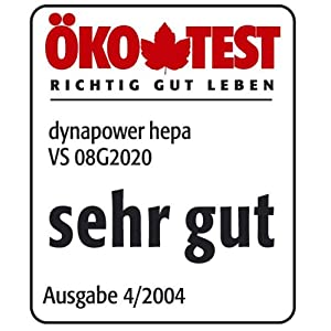 Amazon.de: Siemens VS08G2020 Dynapower Hepa 2000