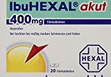 IbuHEXAL akut 400 mg, 20 St. Filmtabletten