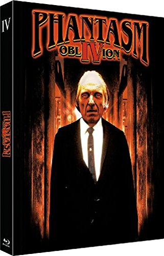 Phantasm IV: Oblivion - Das Böse 4 - 2-Disc Limited Uncut Edition (Blu-ray + DVD) - Limitiertes Mediabook auf 333 Stück, Cover A