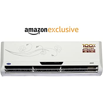 Carrier 1.5 Ton 5 Star (2017) Split AC (Esko, White)