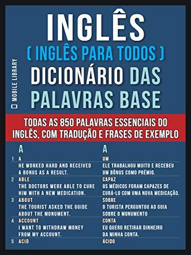 Inglês Inglês Para Todos Dicionário Das Palavras Base