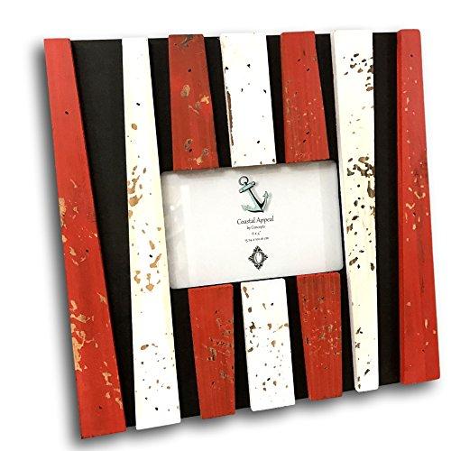 ank Distressed Schwarz Rot Weiß 4von 6 ()