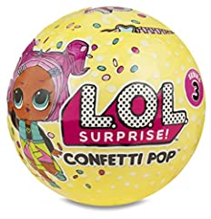 Idea Regalo - Giochi Preziosi LOL Surprise Confetti Pop con Mini Doll a Sorpresa, 9 Livelli, Modelli Assortiti