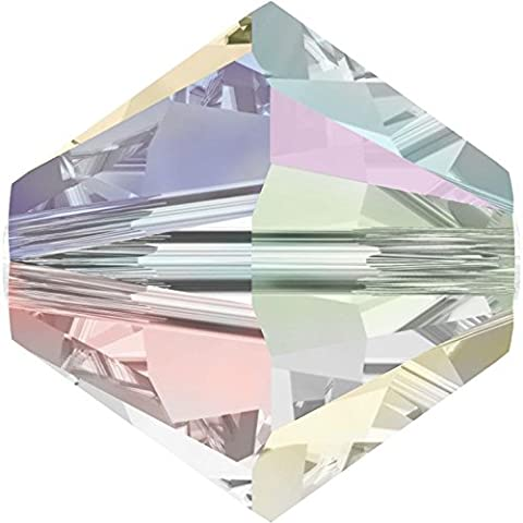 SWAROVSKI Crystal Xilion Bicones/Beads *5328 *6mm *CRY AB 2x *Pack