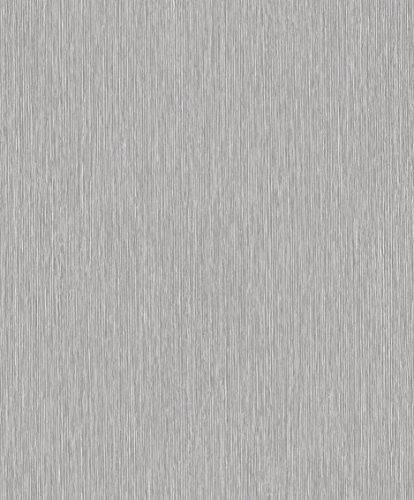 Vlies Tapete Uni Struktur grau silber 3611-30 (grau Uni)