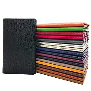 Charmoni® – Eden – Tasche für Auto Papier – Graukarte – Führerschein – Ausweise – Rindsleder – 3-lagig – 9 cm x 14,5 cm