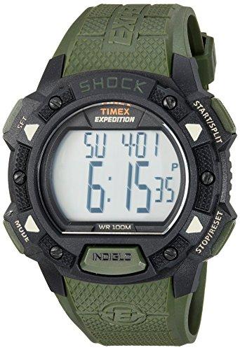 timex expedition tw4b09300 - orologio da uomo con movimento al quarzo, quadrante digitale e cinturino in resina