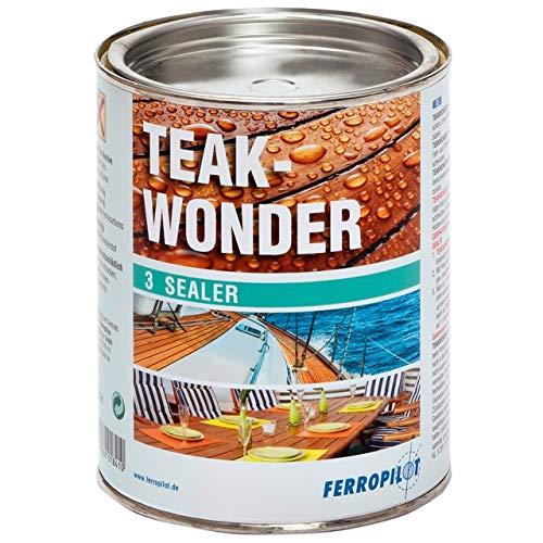 Ferropilot Teak-Wonder Sealer Versiegelung für Diverse Holzarten