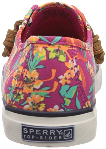 Sperry Seacoast Prints, Sneakers basses femme motif floral rose