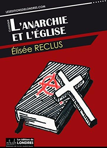 Couverture du livre L'anarchie et l'église