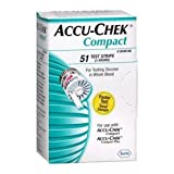 Accu-Chek Compact Test Strips Pack of 51