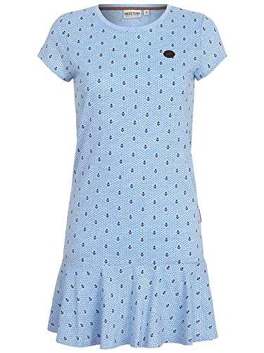 Naketano Female Dress Auf Detlef caktir amazing blue melange